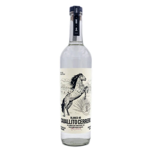 Caballito Cerrero Blanco 46   Destilado de Agave 46% (1 x 0.7 l)