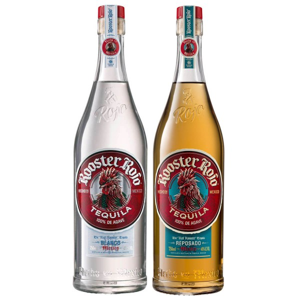Rooster Rojo Tequila Blanco + Reposado 38% (2 x 0.7 l)| 2er-Set