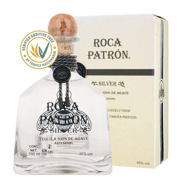 Roca Patrón Tequila Silver   Sonderserie 45% (1 x 0.7 l)