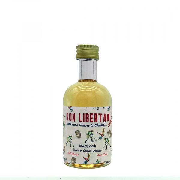 Ron Libertad Dorado 1 Year   Organic Rum 44% (1 x 0,05 l)