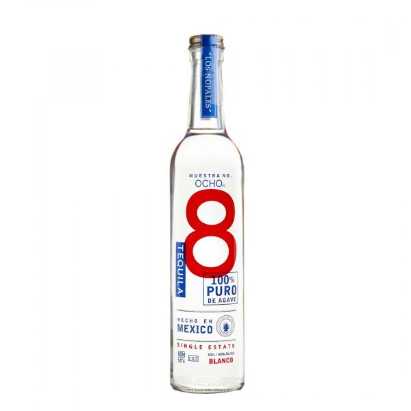 Ocho Single Estate Blanco Tequila 40% (1 x 0.5)