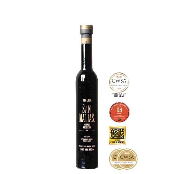 San Matias Tequila Añejo Gran Reserva 40% (1 x 0.35 l)