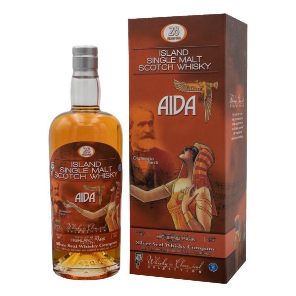 Highland Park Whisky 1987 AIDA Silver Seal 28 Jahre 47,7% (1 x 0,7 l)