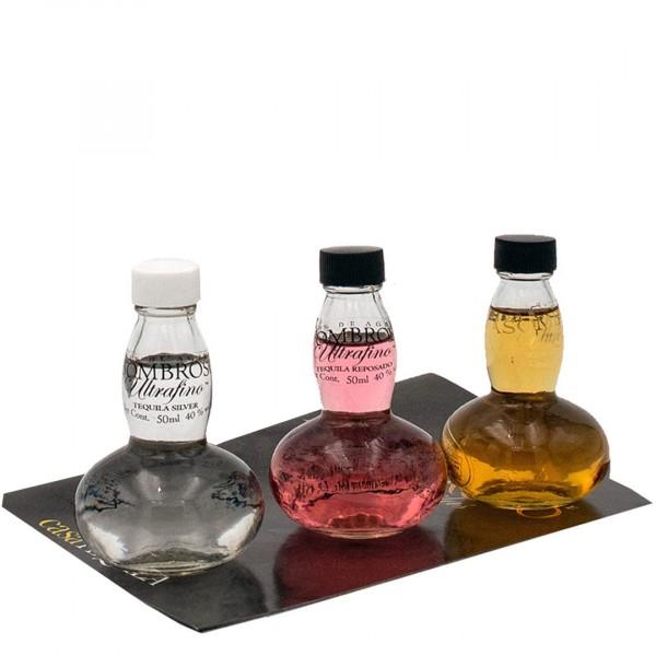 Asombroso Tequila | Basic Tasting Set 40% (3x 0.05 l)