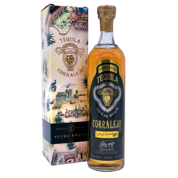 Corralejo Tequila Extra Añejo   Traveller Edition 40% (1 x 1.0 l)