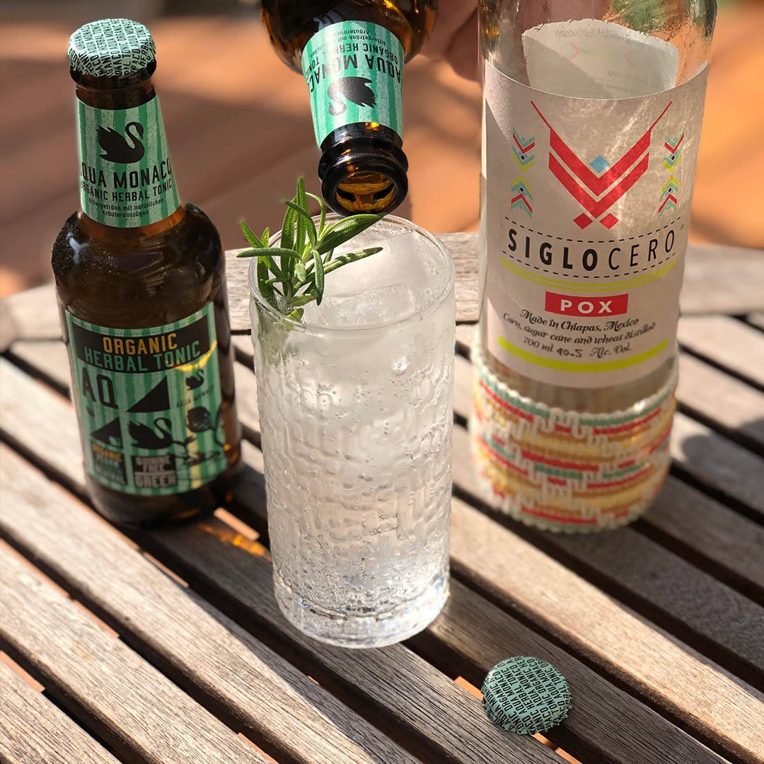 Siglo Cero Pox und Herbal Organic Tonic von Aqua Monaco