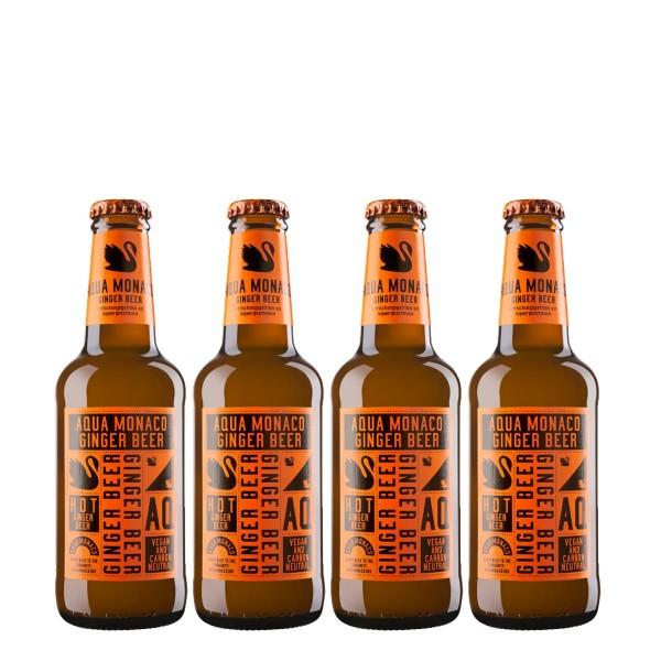 Aqua Monaco Hot Ginger Beer (4 x 230ml)
