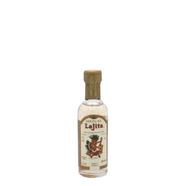 Lajita Mezcal Reposado mit Wurm 40% Miniatur (1 x 0.05 l)