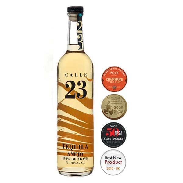 Calle 23 Tequila Añejo 40% (1 x 0.7)