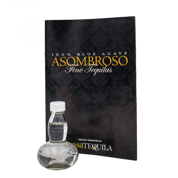 AsomBroso Ultrafino El Platino Tequila Blanco 40% (1 x 0.05 l)