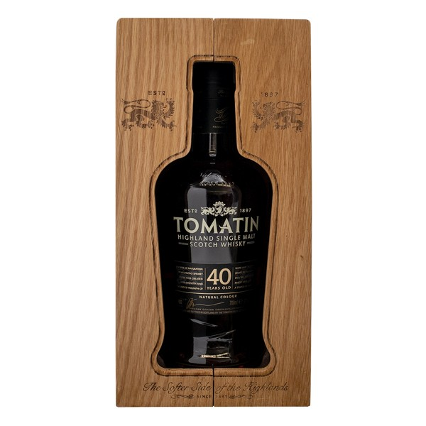 Tomatin Whisky | 40 Jahre - Limited Edition 43% (1 x 0,7 l)
