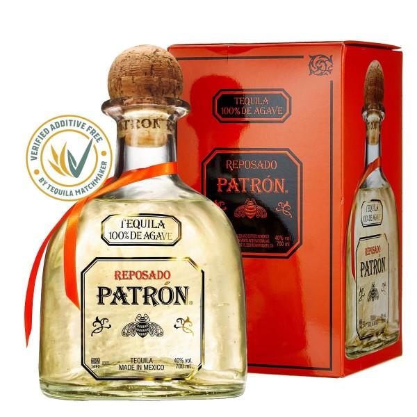 Patrón Tequila Reposado 40% (1 x 0.7 l)