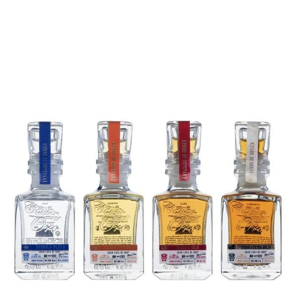 Gran Cava de Oro Tequila | Tasting Set 40% (4 x 50 ml)