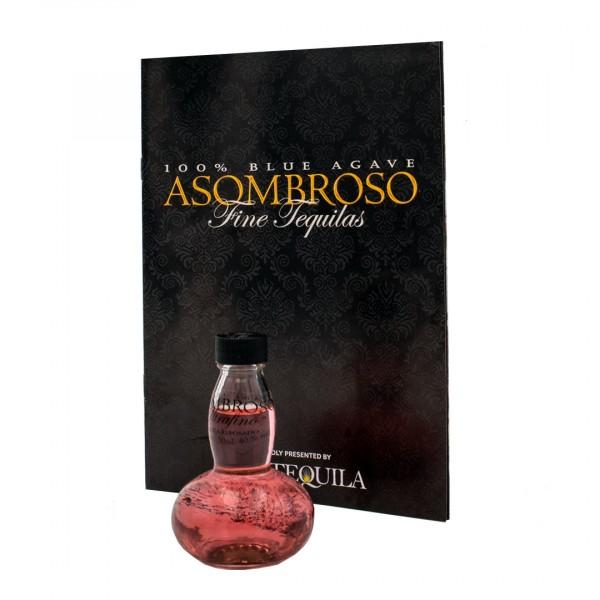 AsomBroso Ultrafino La Rosa Tequila Reposado 40% (1 x 0.05 l)