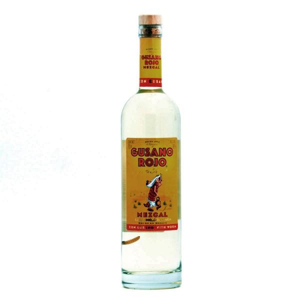 Gusano Rojo Mezcal mit Wurm 38% (1 x 0.7 l)