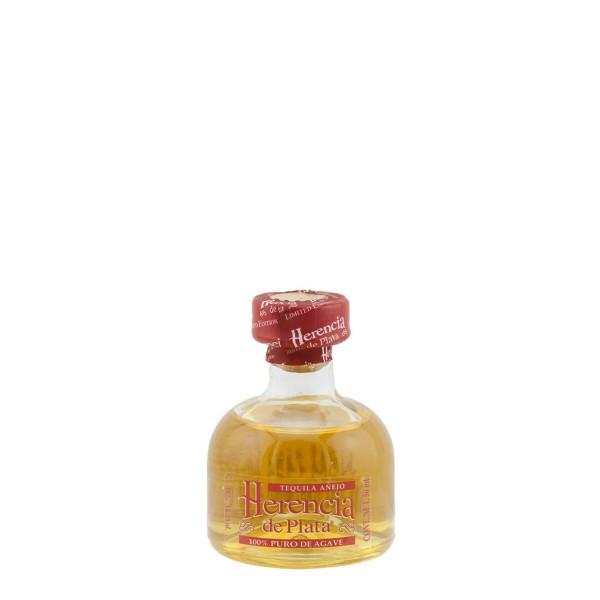 Herencia de Plata Añejo Tequila 38% (1 x 0.05)