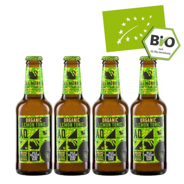 Aqua Monaco Organic Lemon Tonic | Bio (4 x 230ml)