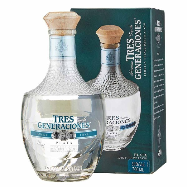 Sauza Tres Generaciones Plata Tequila 38% (1 x 0.7 l)