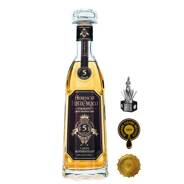 Herencia Histórico 5 Años Extra Añejo Tequila 38% (1 x 0.7)
