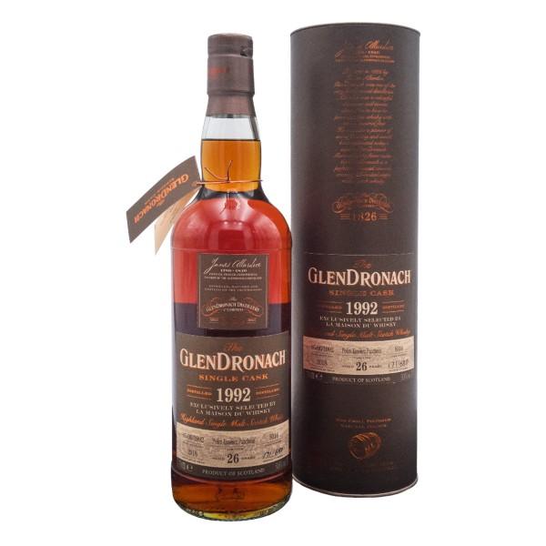 Glendronach 1992 | 26 Jahre Pedro Ximenez Puncheon 51,8% (1 x 0,7 l)