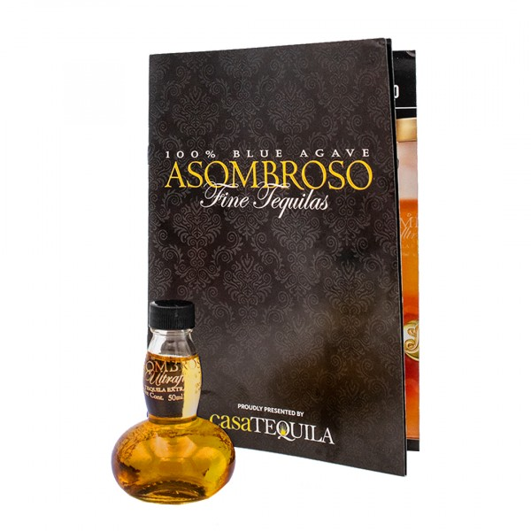 AsomBroso The Collaboration Tequila Extra Añejo 12 Jahre 40% (1 x 0.05 l)