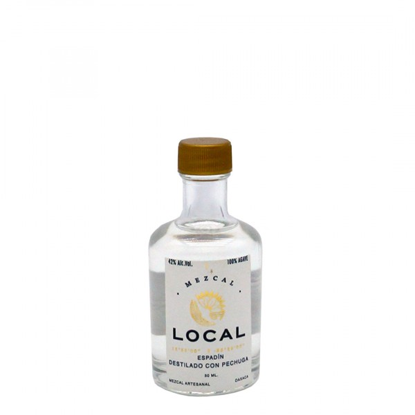 Mezcal Local Destilado con Corazón de Agave 42% (1 x 0.05 l)