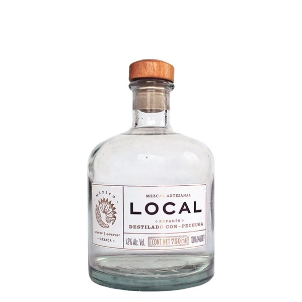 Mezcal Local Destilado con Pechuga 42% (1 x 0.7 l)