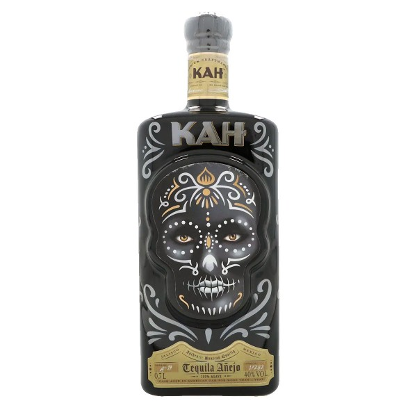 Kah Tequila Añejo | New Edition 40% (1 x 0.7 l)
