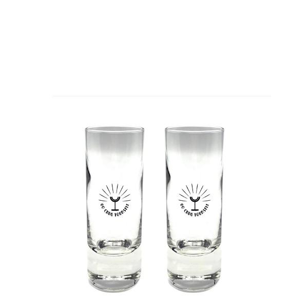 Chug Club Tequila Shotglas   Set mit 2 Gläsern (á 7cl)