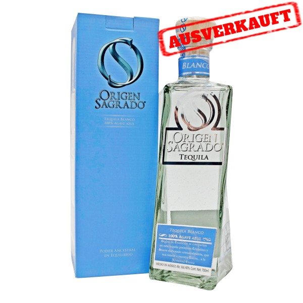 Origen Sagrado Blanco Tequila 40% (1 x 0.7 l)