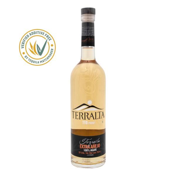 Tequila Terralta Extra Añejo 55%   110 Proof (1 x 0.7 l)