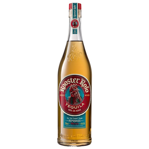 Rooster Rojo Tequila Reposado 38% (1 x 0.7 l)