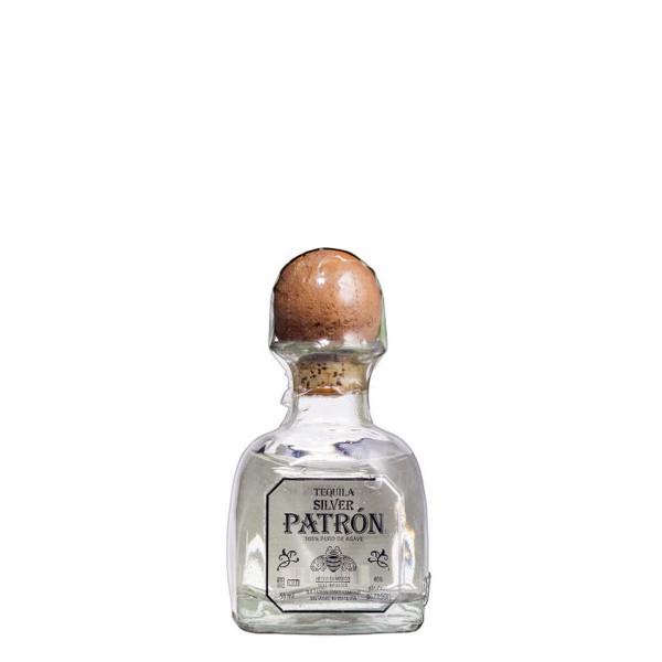 Patrón Tequila Silver Miniatur 40% (1 x 0,05 l)
