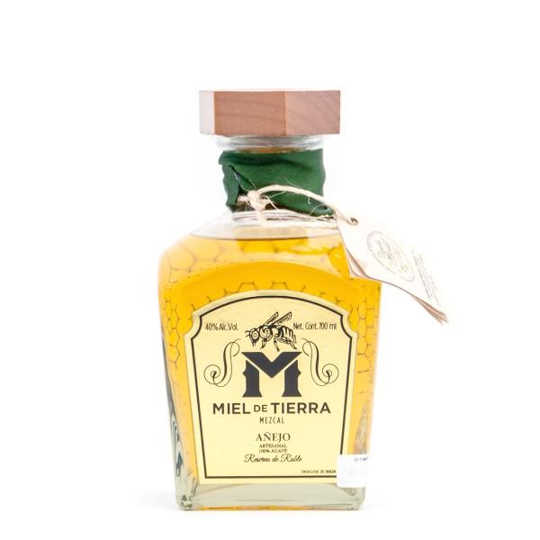 Miel de Tierra Mezcal Añejo Artesanal 40% (1 x 0.7 l)