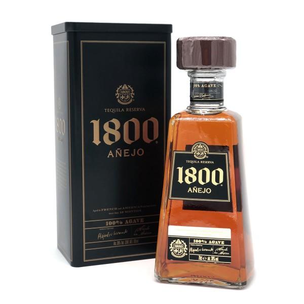 José Cuervo 1800 Tequila Añejo 38% | Geschenkbox aus Blech (1 x 0.7 l)