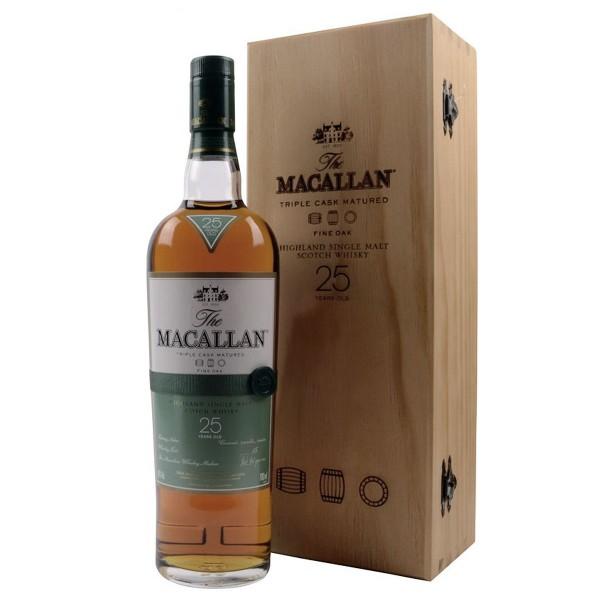 Macallan 25 Jahre Triple Cask Fine Oak Whisky 43% (1 x 0,7 l)